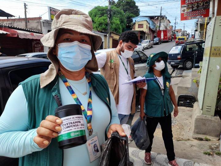 Projeto de controle do Aedes aegypti é executado em parceria entre a prefeitura e a Fiocruz