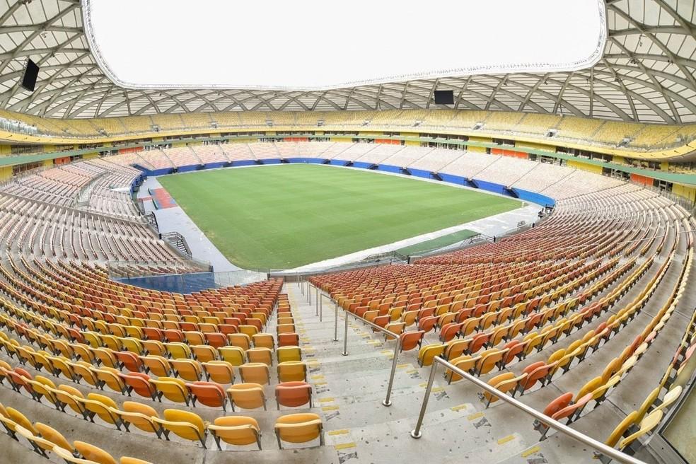 Brasil X Uruguai: jogo na Arena da Amazônia esgota ingressos em menos de 2 dias